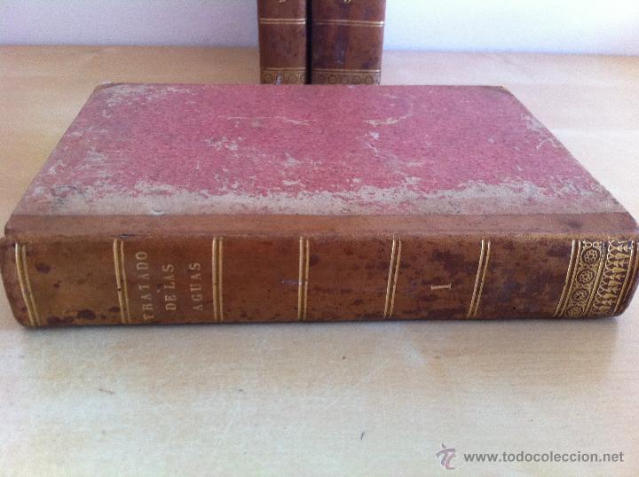 Libros antiguos: TRATADO SOBRE EL MOVIMIENTO DE LAS AGUAS. JOSÉ MARIANO VALLEJO 3 TOMOS. IMP.D.MIGUEL DE BURGOS. 1833 - Foto 10 - 37194969