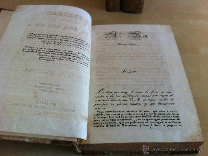 Libros antiguos: TRATADO SOBRE EL MOVIMIENTO DE LAS AGUAS. JOSÉ MARIANO VALLEJO 3 TOMOS. IMP.D.MIGUEL DE BURGOS. 1833 - Foto 14 - 37194969