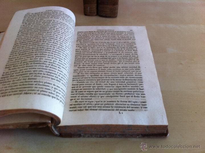 Libros antiguos: TRATADO SOBRE EL MOVIMIENTO DE LAS AGUAS. JOSÉ MARIANO VALLEJO 3 TOMOS. IMP.D.MIGUEL DE BURGOS. 1833 - Foto 16 - 37194969
