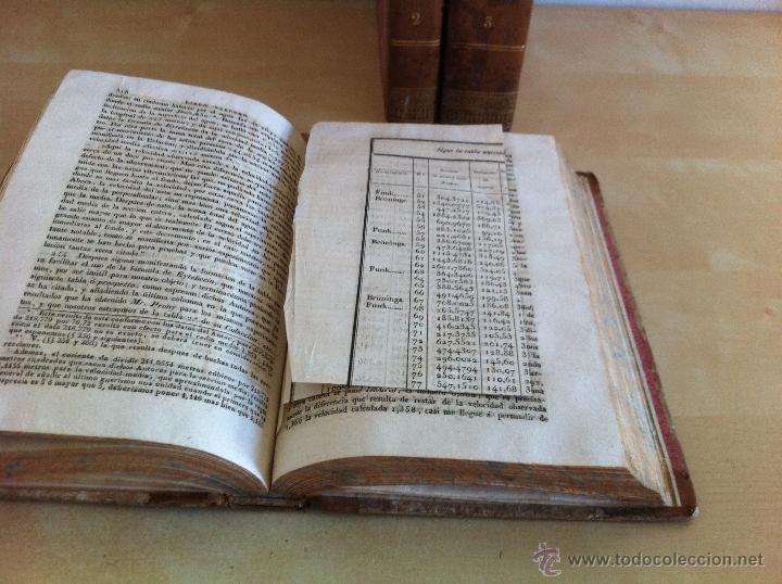 Libros antiguos: TRATADO SOBRE EL MOVIMIENTO DE LAS AGUAS. JOSÉ MARIANO VALLEJO 3 TOMOS. IMP.D.MIGUEL DE BURGOS. 1833 - Foto 17 - 37194969
