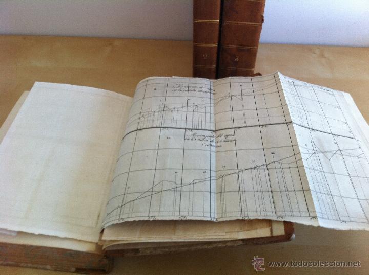 Libros antiguos: TRATADO SOBRE EL MOVIMIENTO DE LAS AGUAS. JOSÉ MARIANO VALLEJO 3 TOMOS. IMP.D.MIGUEL DE BURGOS. 1833 - Foto 21 - 37194969