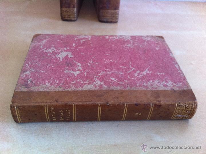 Libros antiguos: TRATADO SOBRE EL MOVIMIENTO DE LAS AGUAS. JOSÉ MARIANO VALLEJO 3 TOMOS. IMP.D.MIGUEL DE BURGOS. 1833 - Foto 25 - 37194969