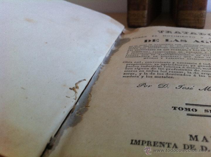 Libros antiguos: TRATADO SOBRE EL MOVIMIENTO DE LAS AGUAS. JOSÉ MARIANO VALLEJO 3 TOMOS. IMP.D.MIGUEL DE BURGOS. 1833 - Foto 32 - 37194969