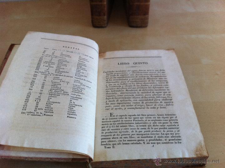 Libros antiguos: TRATADO SOBRE EL MOVIMIENTO DE LAS AGUAS. JOSÉ MARIANO VALLEJO 3 TOMOS. IMP.D.MIGUEL DE BURGOS. 1833 - Foto 34 - 37194969