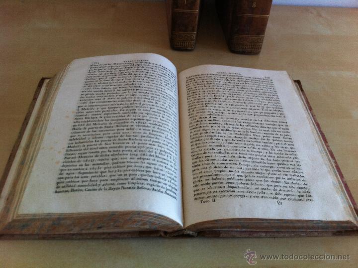 Libros antiguos: TRATADO SOBRE EL MOVIMIENTO DE LAS AGUAS. JOSÉ MARIANO VALLEJO 3 TOMOS. IMP.D.MIGUEL DE BURGOS. 1833 - Foto 36 - 37194969