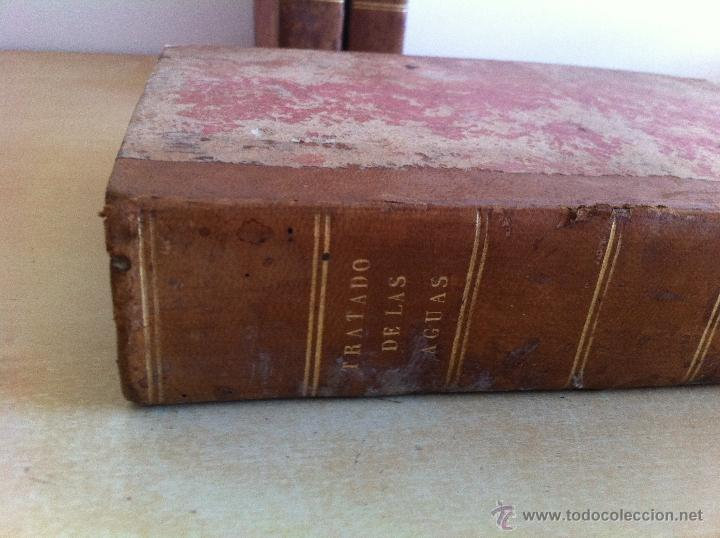 Libros antiguos: TRATADO SOBRE EL MOVIMIENTO DE LAS AGUAS. JOSÉ MARIANO VALLEJO 3 TOMOS. IMP.D.MIGUEL DE BURGOS. 1833 - Foto 43 - 37194969
