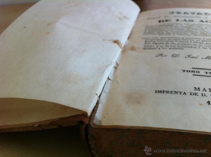Libros antiguos: TRATADO SOBRE EL MOVIMIENTO DE LAS AGUAS. JOSÉ MARIANO VALLEJO 3 TOMOS. IMP.D.MIGUEL DE BURGOS. 1833 - Foto 51 - 37194969