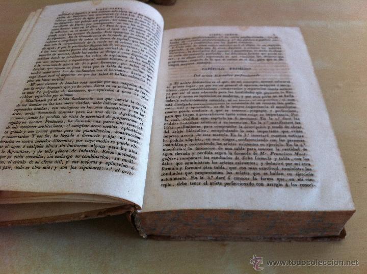 Libros antiguos: TRATADO SOBRE EL MOVIMIENTO DE LAS AGUAS. JOSÉ MARIANO VALLEJO 3 TOMOS. IMP.D.MIGUEL DE BURGOS. 1833 - Foto 53 - 37194969