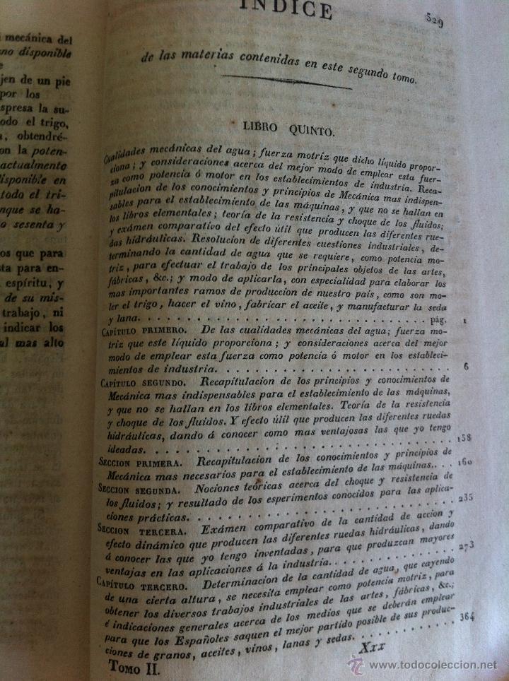 Libros antiguos: TRATADO SOBRE EL MOVIMIENTO DE LAS AGUAS. JOSÉ MARIANO VALLEJO 3 TOMOS. IMP.D.MIGUEL DE BURGOS. 1833 - Foto 65 - 37194969