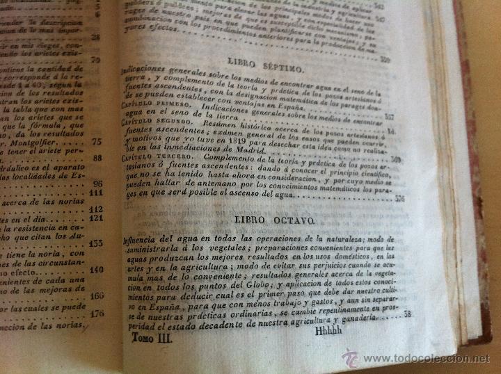 Libros antiguos: TRATADO SOBRE EL MOVIMIENTO DE LAS AGUAS. JOSÉ MARIANO VALLEJO 3 TOMOS. IMP.D.MIGUEL DE BURGOS. 1833 - Foto 69 - 37194969