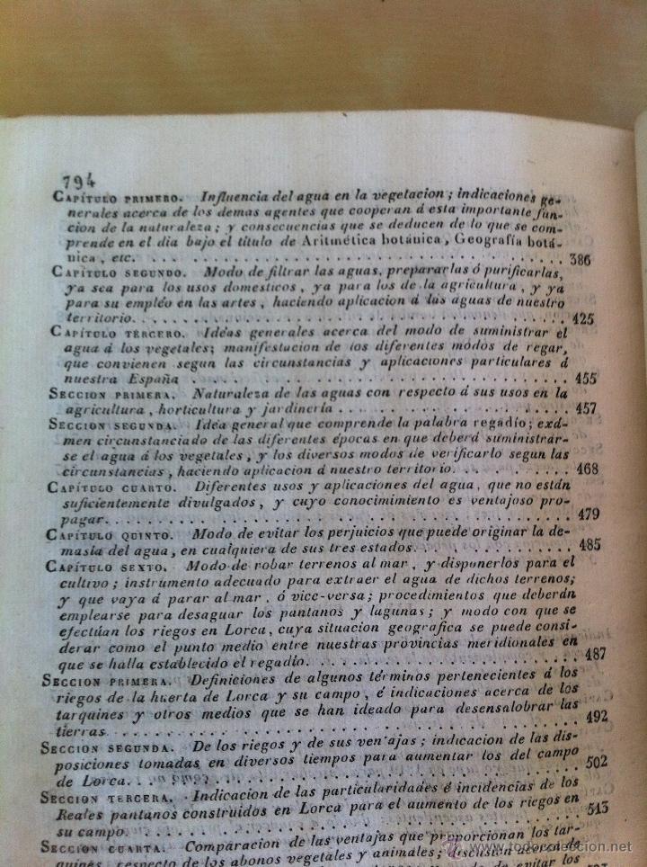 Libros antiguos: TRATADO SOBRE EL MOVIMIENTO DE LAS AGUAS. JOSÉ MARIANO VALLEJO 3 TOMOS. IMP.D.MIGUEL DE BURGOS. 1833 - Foto 70 - 37194969