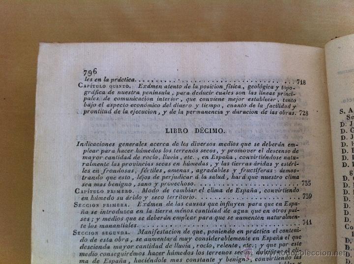 Libros antiguos: TRATADO SOBRE EL MOVIMIENTO DE LAS AGUAS. JOSÉ MARIANO VALLEJO 3 TOMOS. IMP.D.MIGUEL DE BURGOS. 1833 - Foto 74 - 37194969