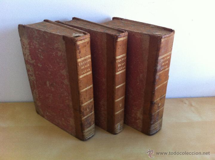 Libros antiguos: TRATADO SOBRE EL MOVIMIENTO DE LAS AGUAS. JOSÉ MARIANO VALLEJO 3 TOMOS. IMP.D.MIGUEL DE BURGOS. 1833 - Foto 76 - 37194969