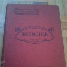 Libros antiguos: ARITMETICA - SALINAS Y BENITEZ - 1929. Lote 51652405