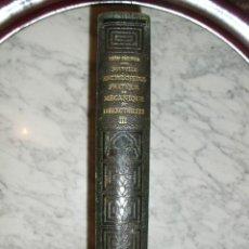 Libros antiguos: OCASIÓN – NOUVELLE ENCYCLOPÉDIE PRATIQUE DE MÉCANIQUE ET D´ELECTRICITÉ – 1924 TOMO III. Lote 52022439