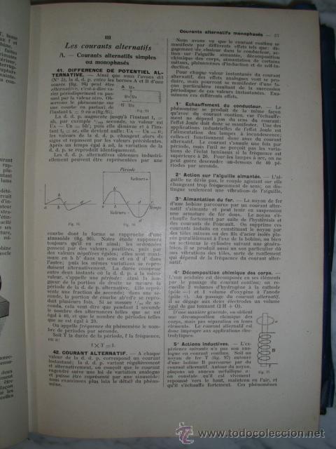 Libros antiguos: OCASIÓN – NOUVELLE ENCYCLOPÉDIE PRATIQUE DE MÉCANIQUE ET D´ELECTRICITÉ – 1924 TOMO III - Foto 7 - 52022439
