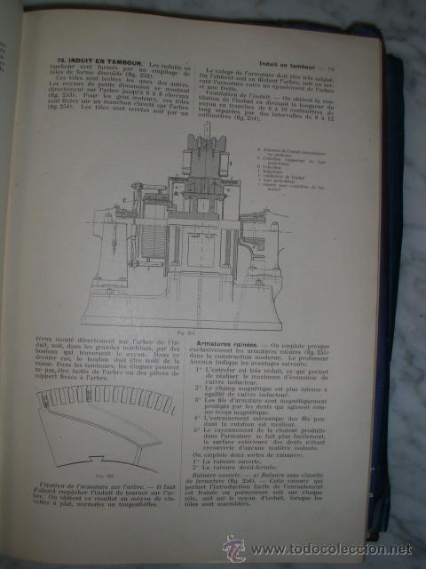 Libros antiguos: OCASIÓN – NOUVELLE ENCYCLOPÉDIE PRATIQUE DE MÉCANIQUE ET D´ELECTRICITÉ – 1924 TOMO III - Foto 9 - 52022439