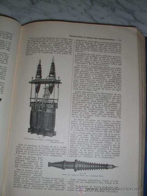 Libros antiguos: OCASIÓN – NOUVELLE ENCYCLOPÉDIE PRATIQUE DE MÉCANIQUE ET D´ELECTRICITÉ – 1924 TOMO III - Foto 12 - 52022439