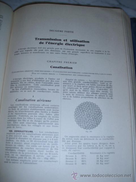 Libros antiguos: OCASIÓN – NOUVELLE ENCYCLOPÉDIE PRATIQUE DE MÉCANIQUE ET D´ELECTRICITÉ – 1924 TOMO III - Foto 13 - 52022439
