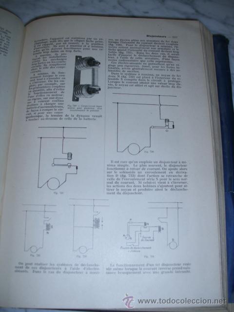 Libros antiguos: OCASIÓN – NOUVELLE ENCYCLOPÉDIE PRATIQUE DE MÉCANIQUE ET D´ELECTRICITÉ – 1924 TOMO III - Foto 14 - 52022439