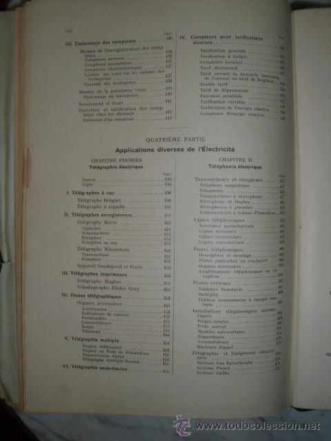 Libros antiguos: OCASIÓN – NOUVELLE ENCYCLOPÉDIE PRATIQUE DE MÉCANIQUE ET D´ELECTRICITÉ – 1924 TOMO III - Foto 22 - 52022439