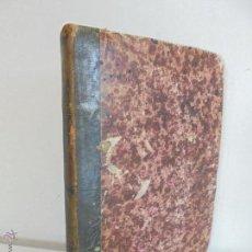Libros antiguos: ELEMENTOS DE MATEMATICAS. ACISCLO F. VALLIN Y BUSTILLO 2 TOMOS GEOMETRIA-TRIGONOMETRIA Y TOPOGRAFIA.. Lote 52334297
