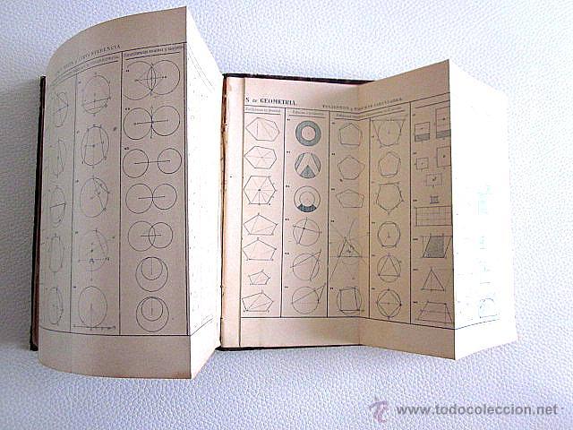 Libros antiguos: Acisclo Vallin y Bustillo. Elementos de Matemáticas, Geometría, Trigonometría y Topografía. 1888 - Foto 4 - 52336598