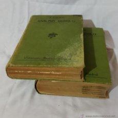 Libros antiguos: LIBRO ANALISIS QUÍMICO (2 VOL) CASARES GIL - 102 AÑOS (1913) OLD CHEMISTRY BOOKS. Lote 52355845