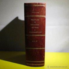 Libros antiguos: TRATTATO DI IDRAULICA TEORICA E SPERIMENTALE SPATARO VOL II 1924 HIDRAULICA. Lote 52507534