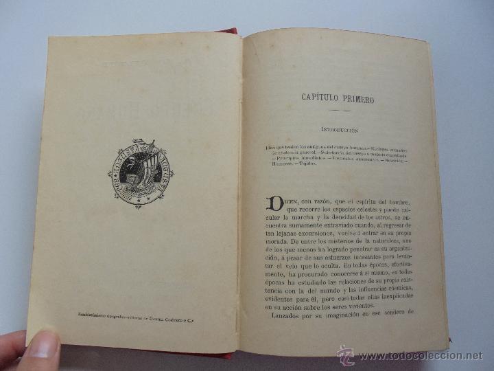 Libros antiguos: BIBLIOTECA DE MARAVILLAS. ERNESTO MENAULT. A. LE PILEUR. 1885-1886. 2 VOLUMENES. EL CUERPO HUMANO Y - Foto 12 - 52524378