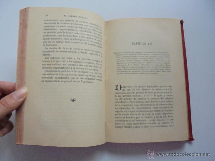 Libros antiguos: BIBLIOTECA DE MARAVILLAS. ERNESTO MENAULT. A. LE PILEUR. 1885-1886. 2 VOLUMENES. EL CUERPO HUMANO Y - Foto 18 - 52524378
