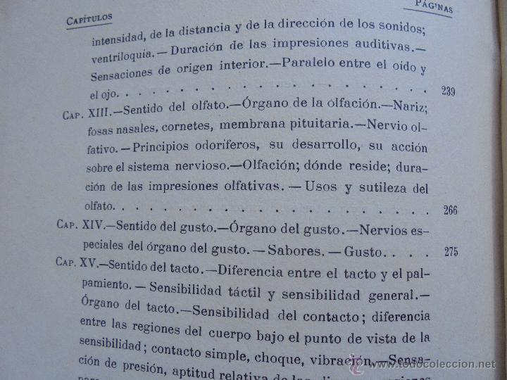 Libros antiguos: BIBLIOTECA DE MARAVILLAS. ERNESTO MENAULT. A. LE PILEUR. 1885-1886. 2 VOLUMENES. EL CUERPO HUMANO Y - Foto 26 - 52524378