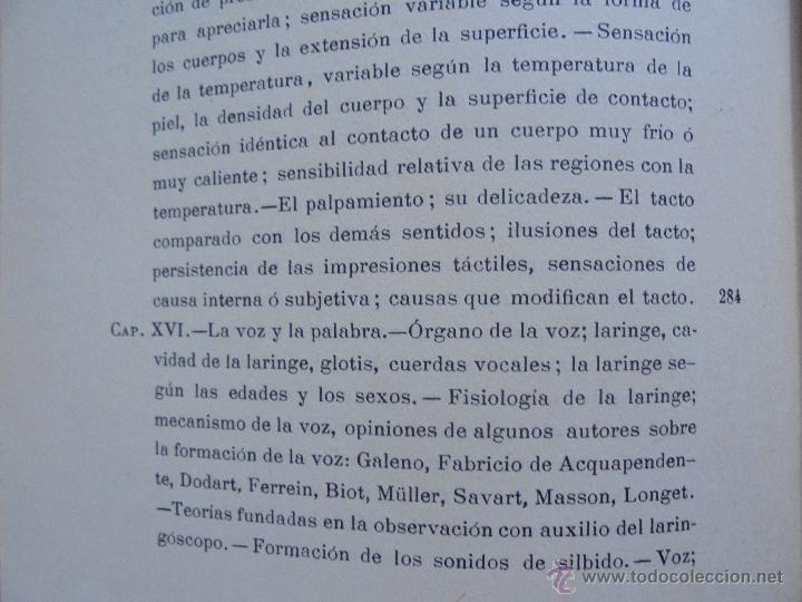 Libros antiguos: BIBLIOTECA DE MARAVILLAS. ERNESTO MENAULT. A. LE PILEUR. 1885-1886. 2 VOLUMENES. EL CUERPO HUMANO Y - Foto 27 - 52524378