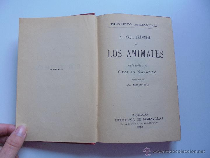 Libros antiguos: BIBLIOTECA DE MARAVILLAS. ERNESTO MENAULT. A. LE PILEUR. 1885-1886. 2 VOLUMENES. EL CUERPO HUMANO Y - Foto 34 - 52524378