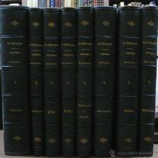 Libros antiguos: LA CREACION. HISTORIA NATURAL. JUAN VILANOVA Y PIERA. MONTANER Y SIMON. 8 VOL. 1872-76.. Lote 52884209
