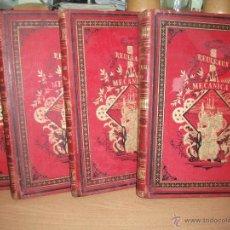Libros antiguos: TRATADO GENERAL DE MECANICA ROULEAUX. ROMA EDITORES BARCELONA. 4 TOMOS COMPLETA. . Lote 52924956