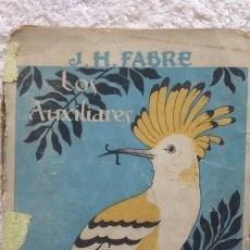 Libros antiguos: LOS AUXILIARES CONVERSACIONES SOBRE LOS ANIMALES UTILES A LA AGRICULTURA. Lote 53076370