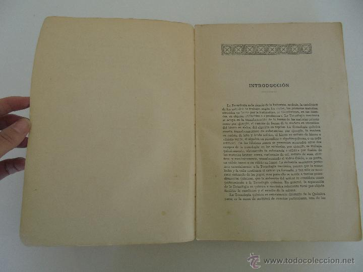 Libros antiguos: TRATADO DE QUIMICA INDUSTRIAL. H.OST. TR. FELIPE VILLAVERDE-EUGENIO FERRER DALMAU. VER FOTOGRAFIAS. - Foto 9 - 53095397