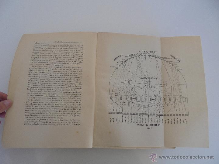 Libros antiguos: TRATADO DE QUIMICA INDUSTRIAL. H.OST. TR. FELIPE VILLAVERDE-EUGENIO FERRER DALMAU. VER FOTOGRAFIAS. - Foto 10 - 53095397