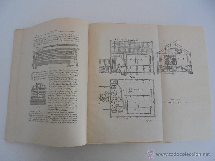 Libros antiguos: TRATADO DE QUIMICA INDUSTRIAL. H.OST. TR. FELIPE VILLAVERDE-EUGENIO FERRER DALMAU. VER FOTOGRAFIAS. - Foto 12 - 53095397