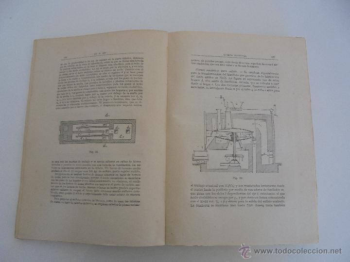 Libros antiguos: TRATADO DE QUIMICA INDUSTRIAL. H.OST. TR. FELIPE VILLAVERDE-EUGENIO FERRER DALMAU. VER FOTOGRAFIAS. - Foto 13 - 53095397