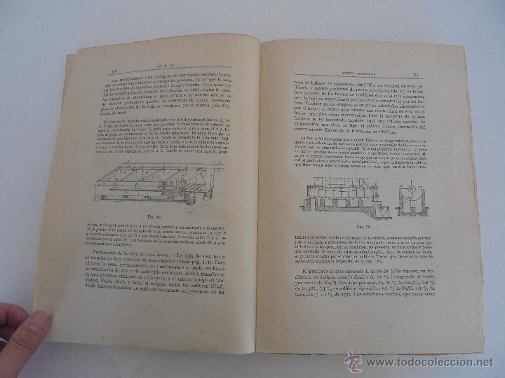 Libros antiguos: TRATADO DE QUIMICA INDUSTRIAL. H.OST. TR. FELIPE VILLAVERDE-EUGENIO FERRER DALMAU. VER FOTOGRAFIAS. - Foto 15 - 53095397