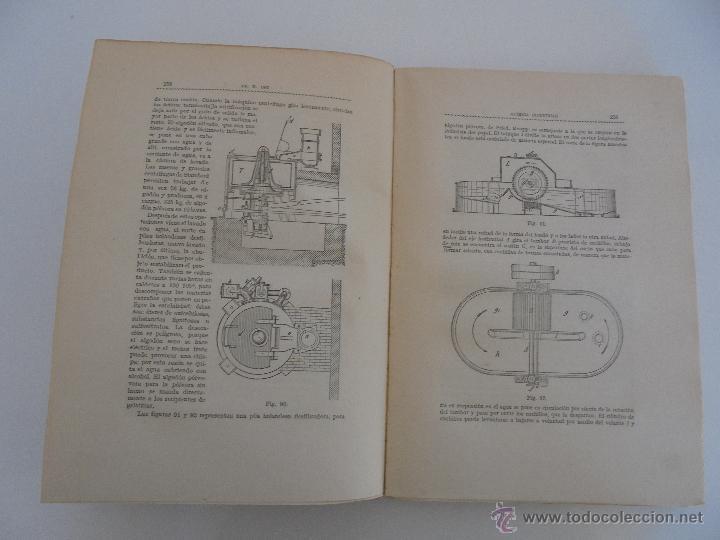 Libros antiguos: TRATADO DE QUIMICA INDUSTRIAL. H.OST. TR. FELIPE VILLAVERDE-EUGENIO FERRER DALMAU. VER FOTOGRAFIAS. - Foto 16 - 53095397