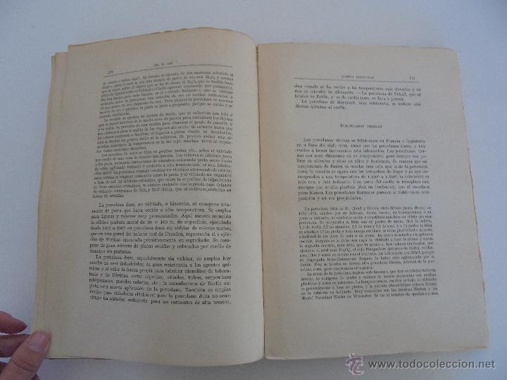 Libros antiguos: TRATADO DE QUIMICA INDUSTRIAL. H.OST. TR. FELIPE VILLAVERDE-EUGENIO FERRER DALMAU. VER FOTOGRAFIAS. - Foto 18 - 53095397