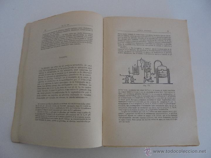 Libros antiguos: TRATADO DE QUIMICA INDUSTRIAL. H.OST. TR. FELIPE VILLAVERDE-EUGENIO FERRER DALMAU. VER FOTOGRAFIAS. - Foto 33 - 53095397