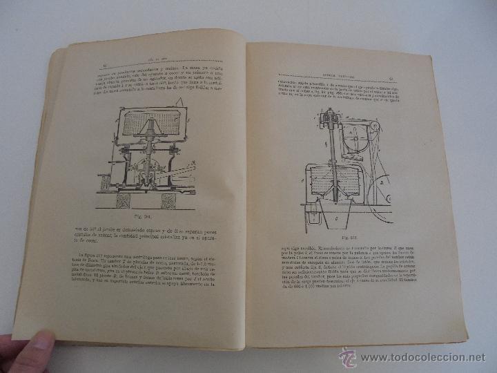 Libros antiguos: TRATADO DE QUIMICA INDUSTRIAL. H.OST. TR. FELIPE VILLAVERDE-EUGENIO FERRER DALMAU. VER FOTOGRAFIAS. - Foto 36 - 53095397