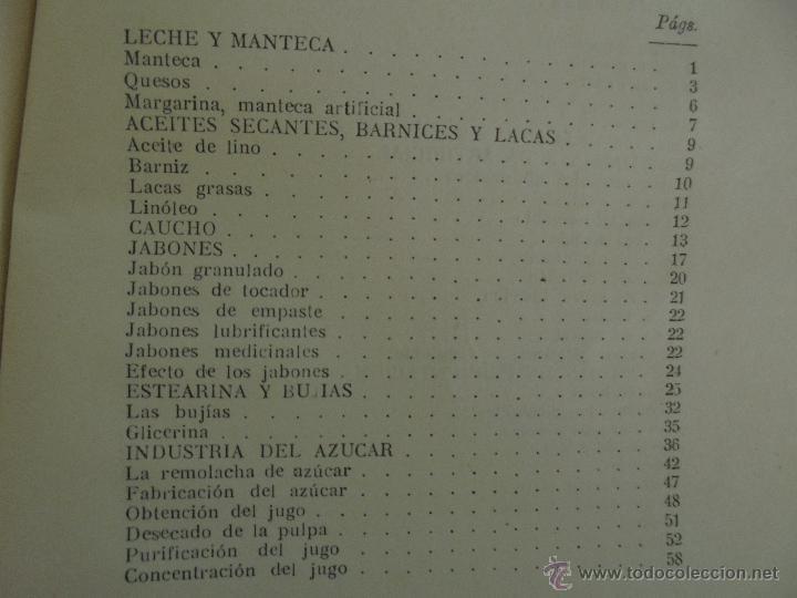 Libros antiguos: TRATADO DE QUIMICA INDUSTRIAL. H.OST. TR. FELIPE VILLAVERDE-EUGENIO FERRER DALMAU. VER FOTOGRAFIAS. - Foto 42 - 53095397