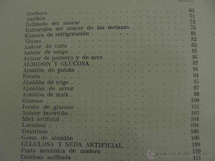 Libros antiguos: TRATADO DE QUIMICA INDUSTRIAL. H.OST. TR. FELIPE VILLAVERDE-EUGENIO FERRER DALMAU. VER FOTOGRAFIAS. - Foto 43 - 53095397
