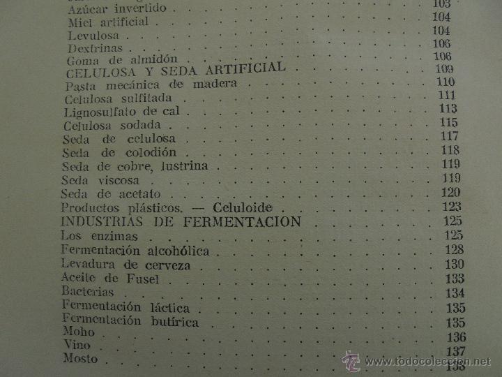 Libros antiguos: TRATADO DE QUIMICA INDUSTRIAL. H.OST. TR. FELIPE VILLAVERDE-EUGENIO FERRER DALMAU. VER FOTOGRAFIAS. - Foto 44 - 53095397