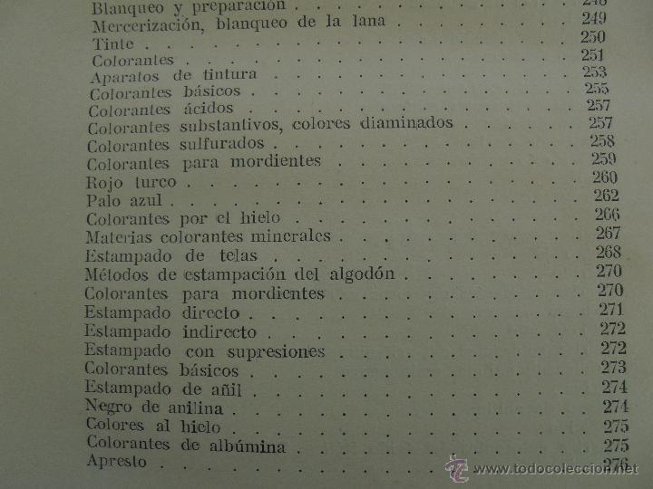 Libros antiguos: TRATADO DE QUIMICA INDUSTRIAL. H.OST. TR. FELIPE VILLAVERDE-EUGENIO FERRER DALMAU. VER FOTOGRAFIAS. - Foto 48 - 53095397